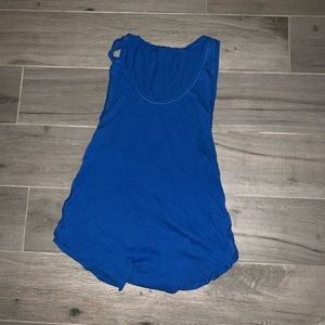 Royal Blue Lululemon tank top